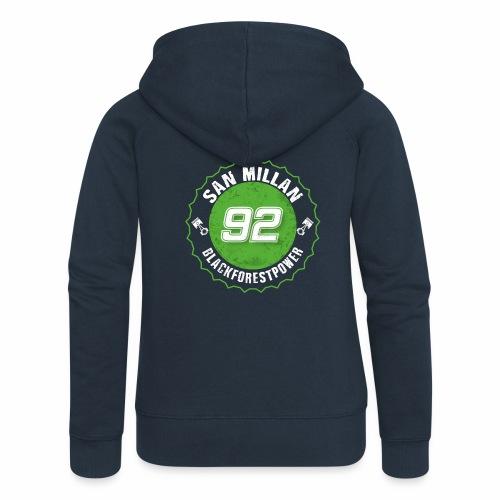 San Millan Blackforestpower 92 rund - Frauen Premium Kapuzenjacke
