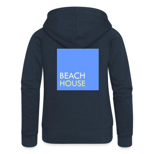 Blue Summer Logo - Women's Premium Hooded Jacket