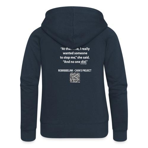 Caras Project fan shirt - Women's Premium Hooded Jacket