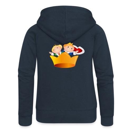 Koning Willem Alexander & Maxima - Vrouwenjack met capuchon Premium