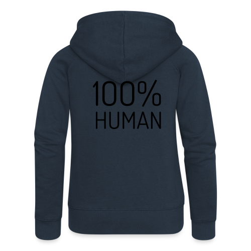 100% Human - Vrouwenjack met capuchon Premium