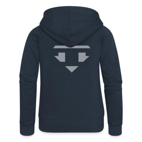 Twanneman logo Reverse - Vrouwenjack met capuchon Premium