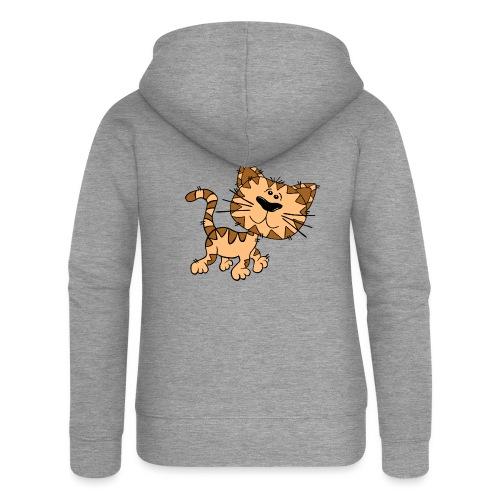 Cat - Frauen Premium Kapuzenjacke