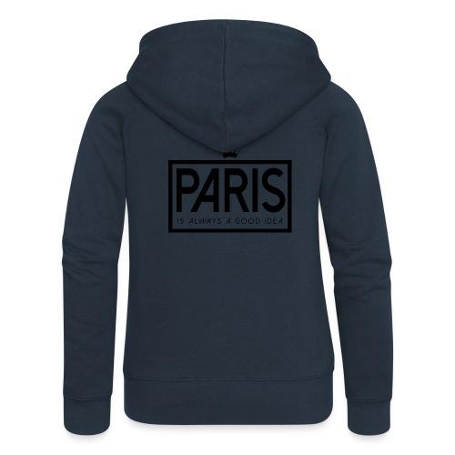PARIS, FRANCE - Women's Premium Hooded Jacket