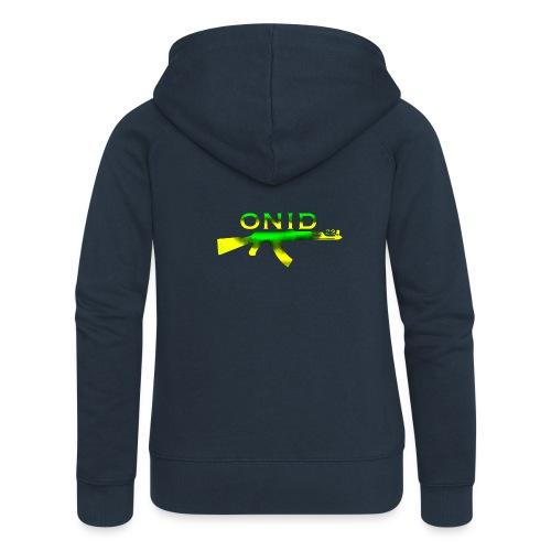 ONID-22 - Felpa con zip premium da donna