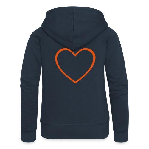 Hjärta 4 - Premium luvjacka dam