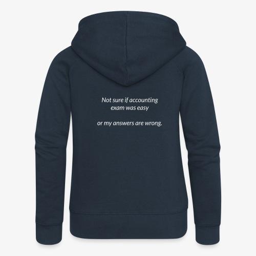Easy Exam - Women's Premium Hooded Jacket