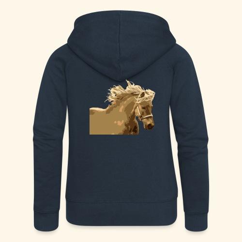 shetland - Frauen Premium Kapuzenjacke