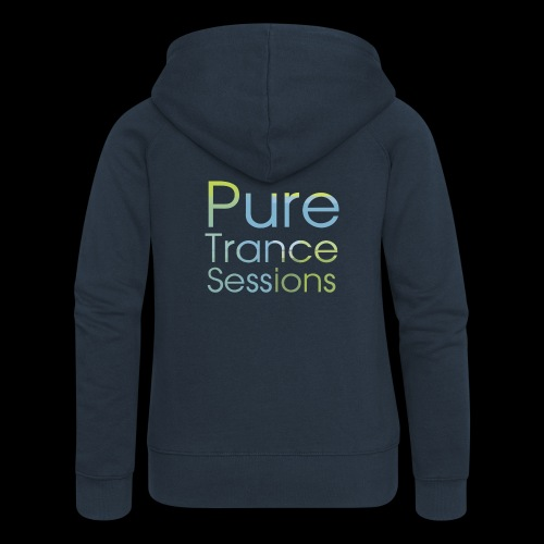 PureTrance100 transparantGROOT kopie png - Women's Premium Hooded Jacket
