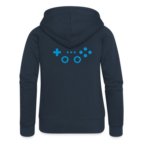 Classic Gaming Controller - Women's Premium Hooded Jacket