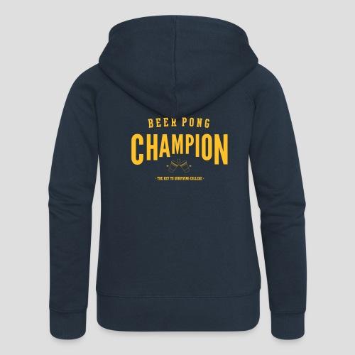 Beerpong Champion T-Shirt - Frauen Premium Kapuzenjacke