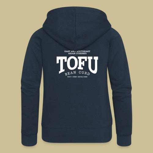 Tofu (white) - Frauen Premium Kapuzenjacke