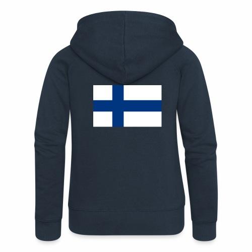 Suomenlippu - tuoteperhe - Naisten Girlie svetaritakki premium