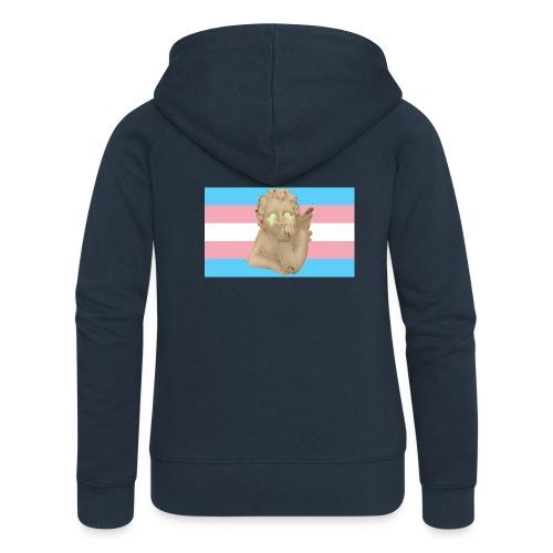 Transgender flag - Premium hettejakke for kvinner