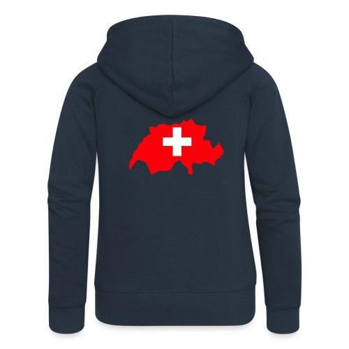 Switzerland - Vrouwenjack met capuchon Premium