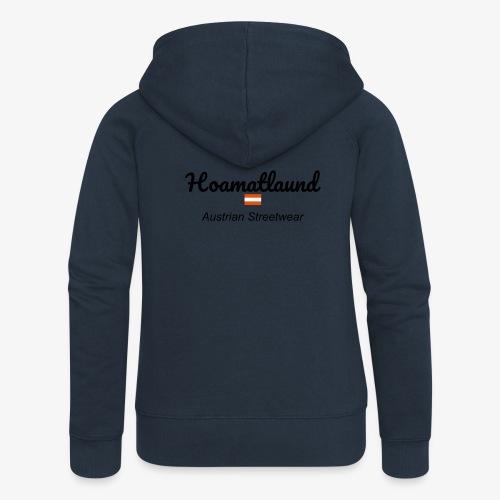 hoamatlaund austrain Streetwear - Frauen Premium Kapuzenjacke