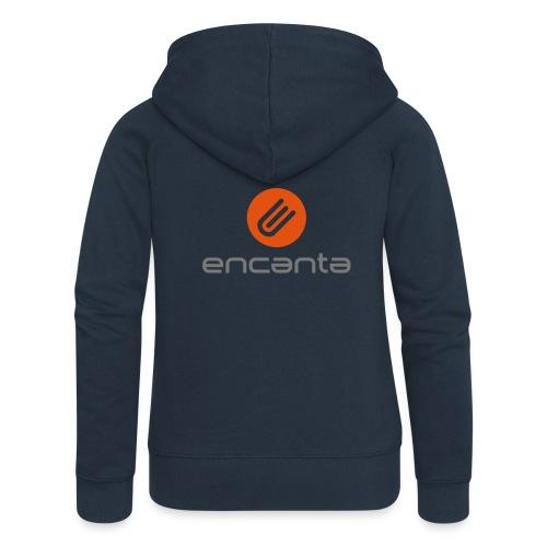 Encanta_Logo_Vector - Chaqueta con capucha premium mujer