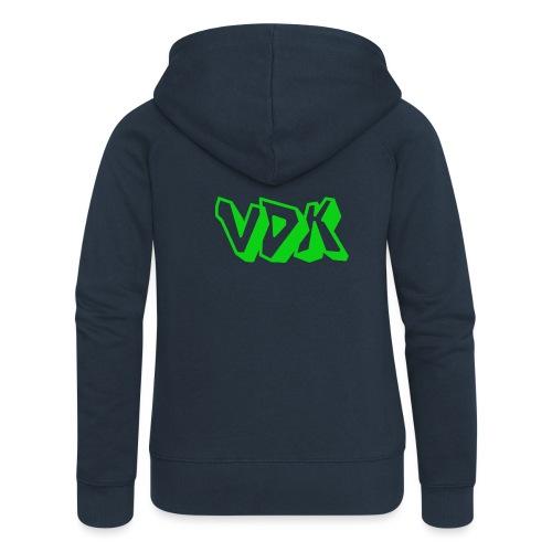 vdk shirt - Vrouwenjack met capuchon Premium