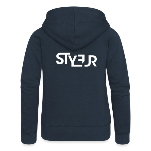 styleur logo spreadhsirt - Frauen Premium Kapuzenjacke