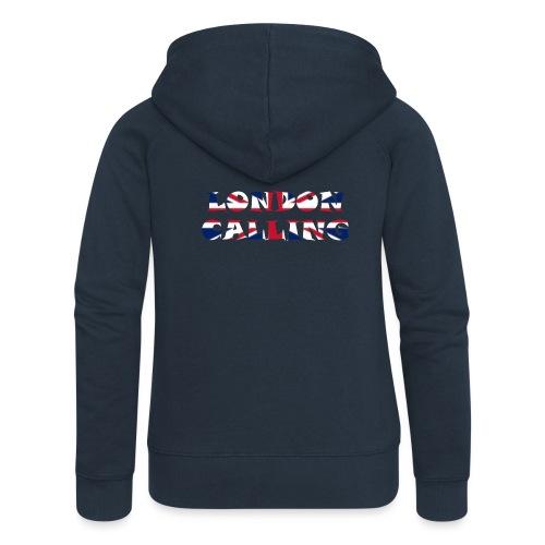 London 21.1 - Frauen Premium Kapuzenjacke