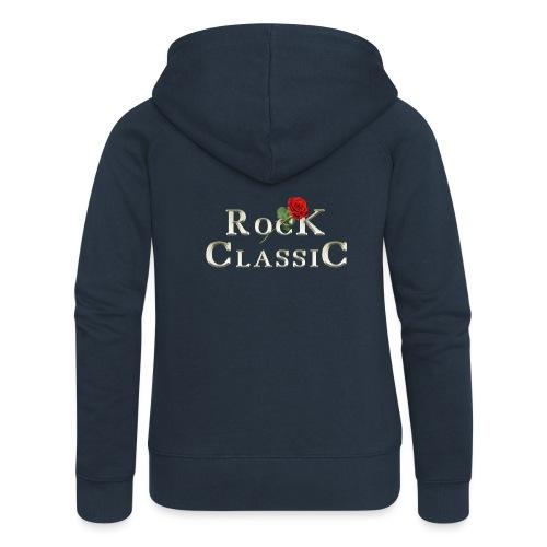Rock Classic Rose - Frauen Premium Kapuzenjacke