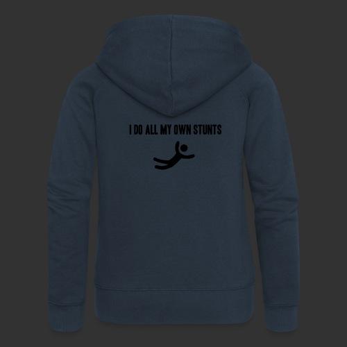 T-shirt, I do all my own stunts - Premium luvjacka dam