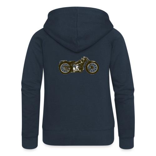 Classic Cafe Racer - Women's Premium Hooded Jacket