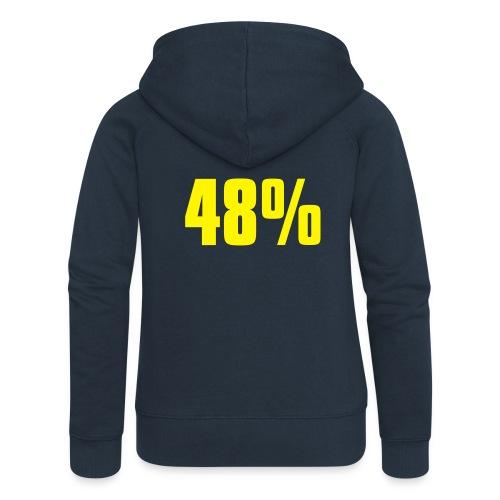 48% - Women's Premium Hooded Jacket
