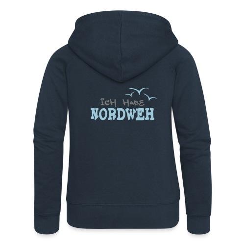 Ich habe Nordweh - Frauen Premium Kapuzenjacke