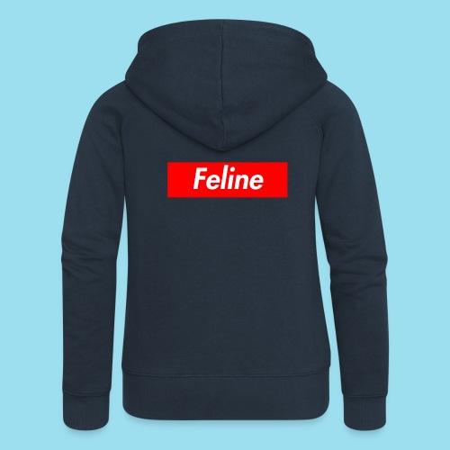 FELINE Supmeme - Frauen Premium Kapuzenjacke