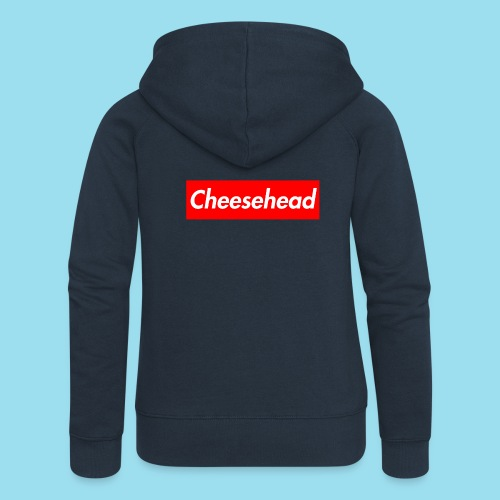 CHEESEHEAD Supmeme - Frauen Premium Kapuzenjacke