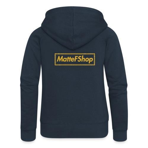 Gold Collection! (MatteFShop Original) - Felpa con zip premium da donna