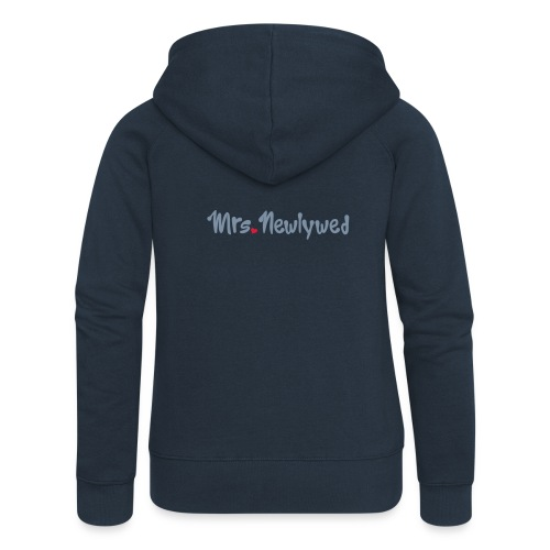 Mrs Newlywed - Women's Premium Hooded Jacket
