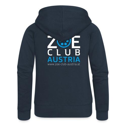 ZOE Club Austria QUADWHIT - Frauen Premium Kapuzenjacke