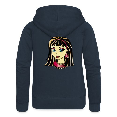 cleopatra color - Vrouwenjack met capuchon Premium