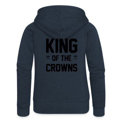 King of the crowns - Vrouwenjack met capuchon Premium