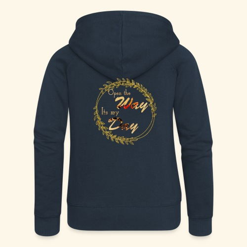 its my day weddingcontest - Women's Premium Hooded Jacket