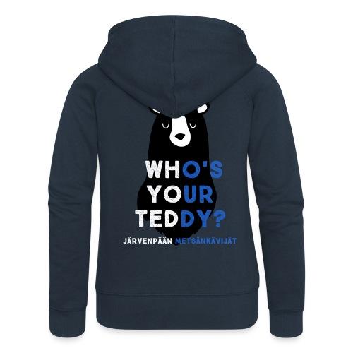 teddy sinivalk - Naisten Girlie svetaritakki premium
