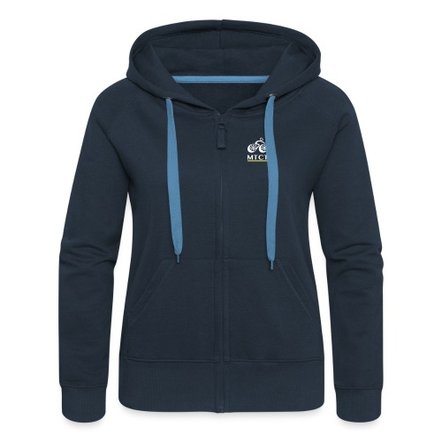 MTCT Lettering - Women's Premium Hooded Jacket