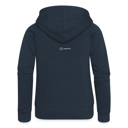 logo sandervgn - Vrouwenjack met capuchon Premium