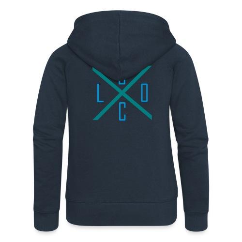 X-BLOC - Frauen Premium Kapuzenjacke