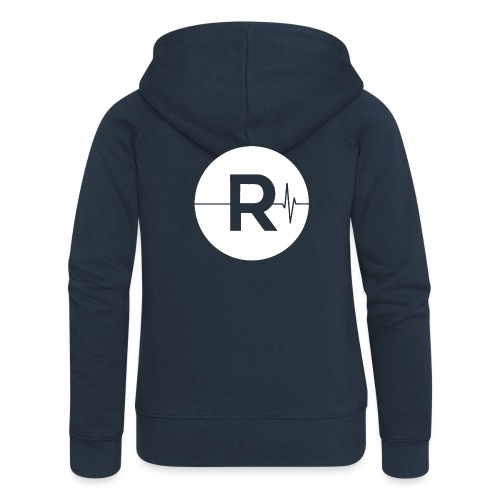REVIVED - BIG R - Women's Premium Hooded Jacket