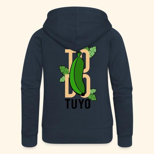 Camiseta Platanera TODO TUYO (LAVAINA) - Chaqueta con capucha premium mujer