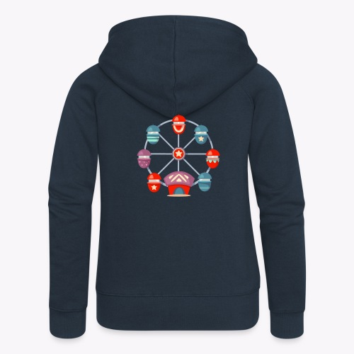 Ferris Wheel - Women's Premium Hooded Jacket