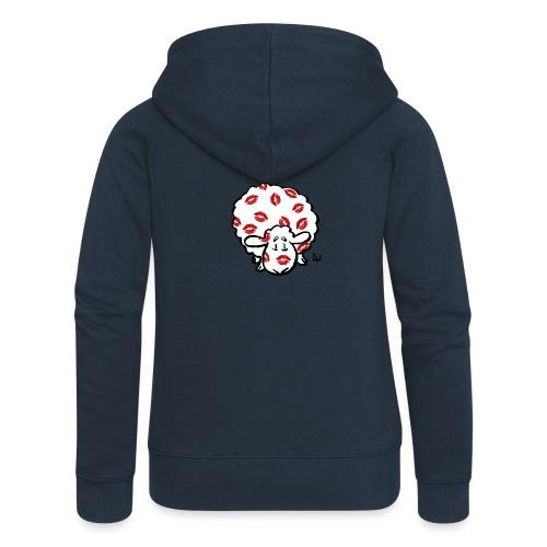 Kiss Ewe - Women's Premium Hooded Jacket