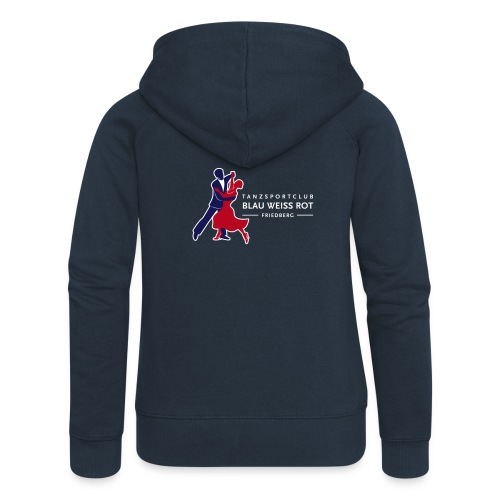 Logo TSC Friedberg Für dunklen Hintergrund - Frauen Premium Kapuzenjacke