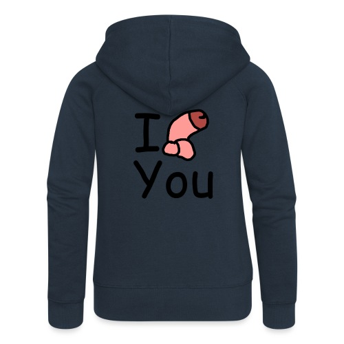 I Dong You - Women's Premium Hooded Jacket