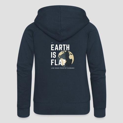 Flat Earth - Frauen Premium Kapuzenjacke