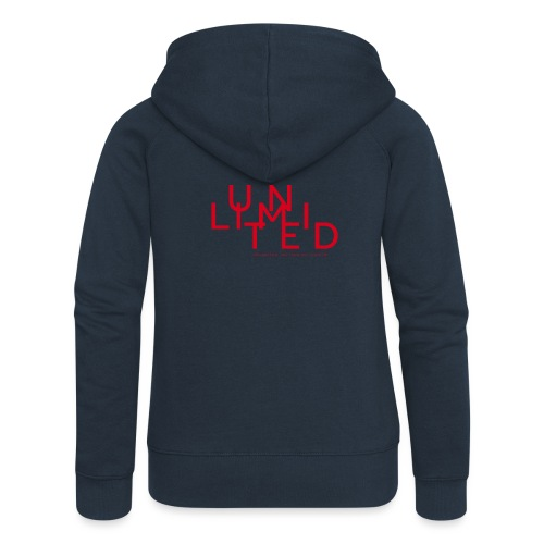 Unlimited red - Women's Premium Hooded Jacket