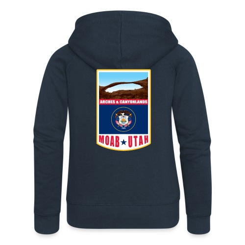Utah - Moab, Arches & Canyonlands - Women's Premium Hooded Jacket